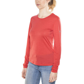 super.natural W's 140 Base LS Clove Red
